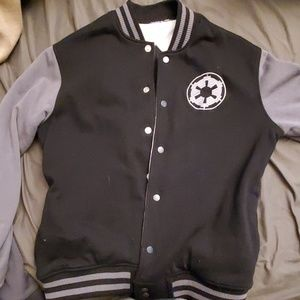 Star Wars Empire / Rebel reversible varsity jacket